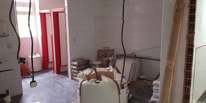 Reforma en Centro de Salud de Murcia Infante (Murcia)