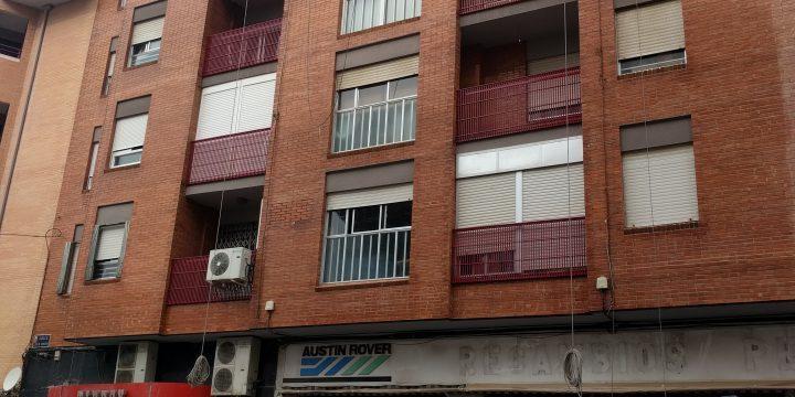 Rehabilitación de fachada en C/ Juan Ramón Jiménez, Murcia