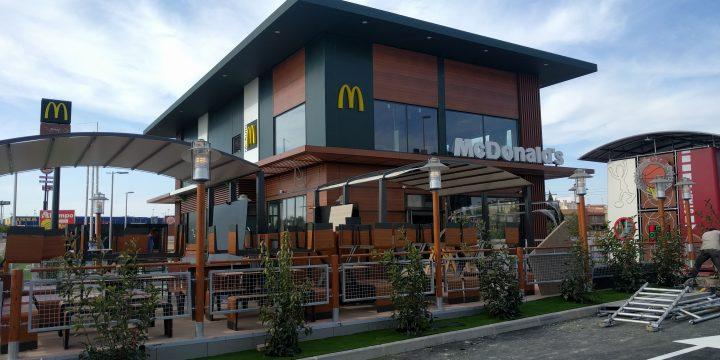 Restaurante McDonald's en Avda. Juan de Borbón de Murcia