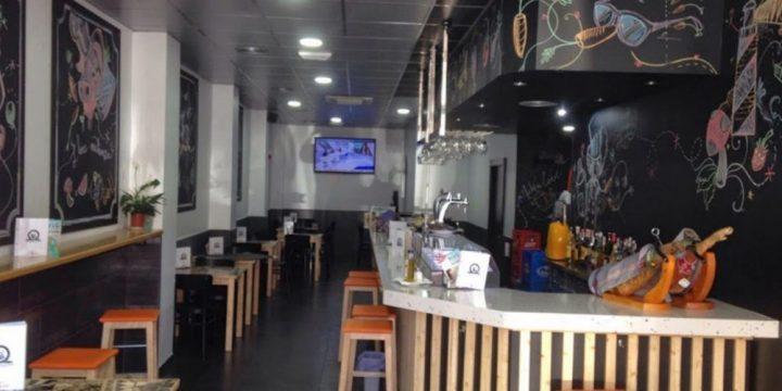 Licencia de actividad de café-bar con cocina en C/ Simón García de Murcia