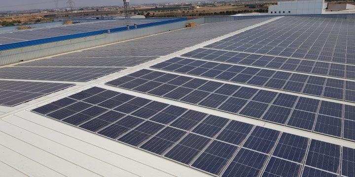 Instalación fotovoltaica para autoconsumo de 940,40 kWp en Cartagena (Murcia)