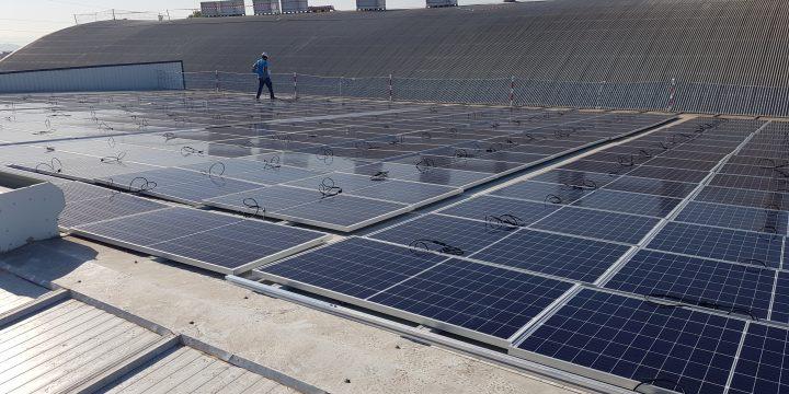 Instalación fotovoltaica para autoconsumo de 225 kWp en Espinardo, Murcia
