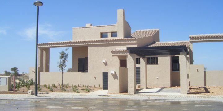 20 viviendas unifamiliares en Corvera Golf