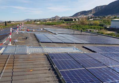 Instalación fotovoltaica de autoconsumo de 40,71 kWp en Torreagüera (Murcia)
