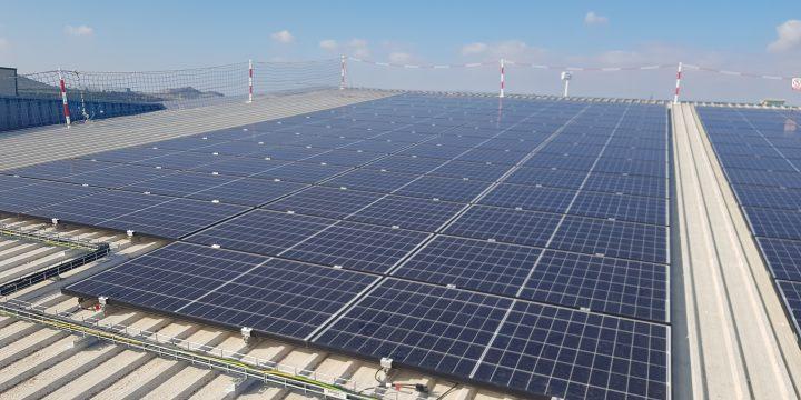 Instalación fotovoltaica de autoconsumo de 98,53 kWp de potencia