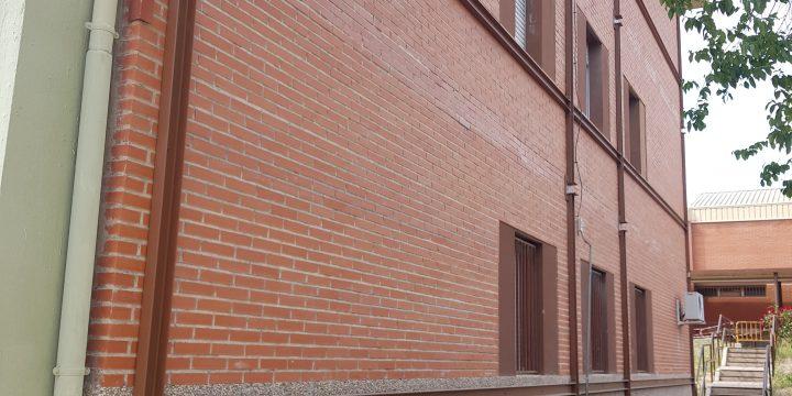 Obras de emergencia en el IES «José Luis Castillo Puche» de Yecla (Murcia)