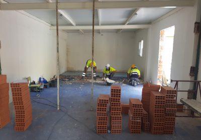 Adecuación de espacios para comedor en CEIP San Agustín de Ojós (Murcia)