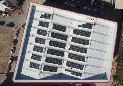 Instalación fotovoltaica de autoconsumo de 99,96 kWp en Molina de Segura (Murcia)