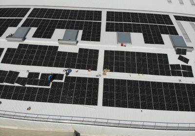 Instalación fotovoltaica para autoconsumo de 460,04 kWp
