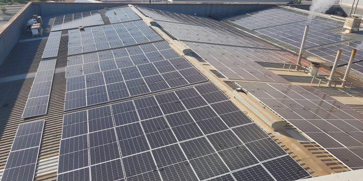 Instalación fotovoltaica de autoconsumo de 1134,75 kWp