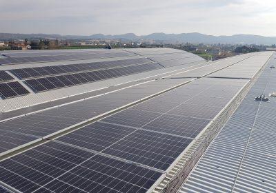 Instalación fotovoltaica de autoconsumo de 508,30 kWp