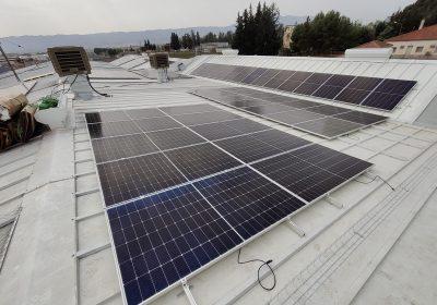 Instalación fotovoltaica para autoconsumo de 300 kWp