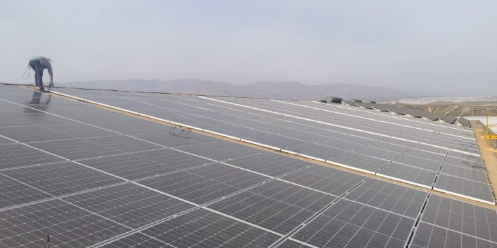 Instalación fotovoltaica para autoconsumo de 117 kWp